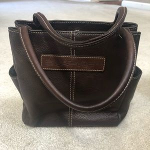 Lucky Brand Purse Brown Leather
